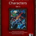 278067 12 pregenerated Characters available for free download