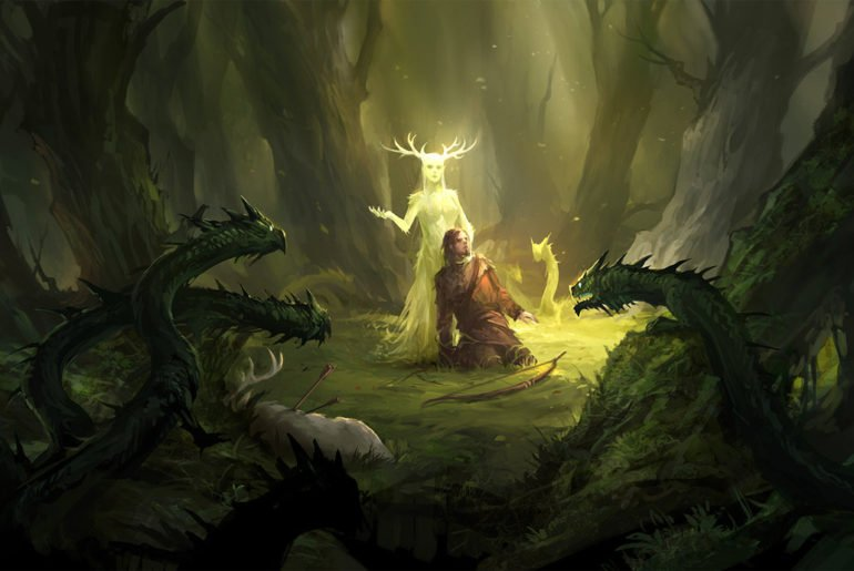 forest fey D&D Monsters by CR
