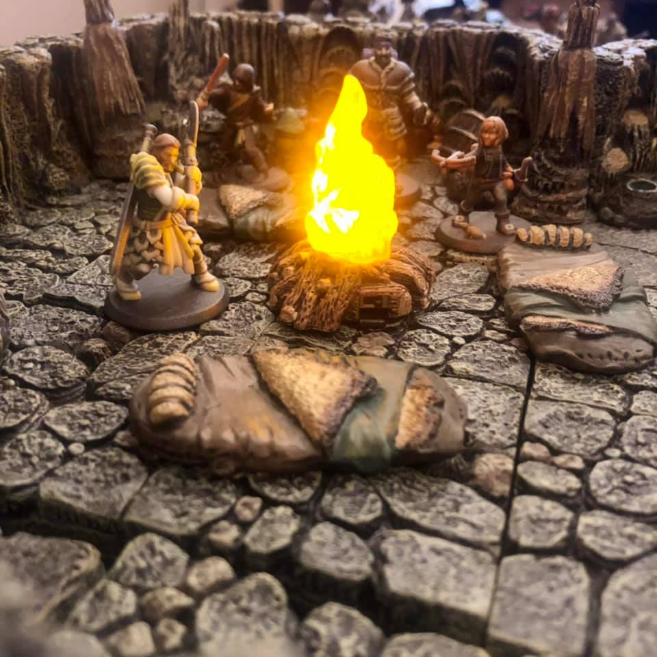 Dungeons and dragons terrain